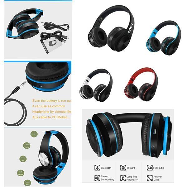 Foldable Wireless Over-Ear Headphones