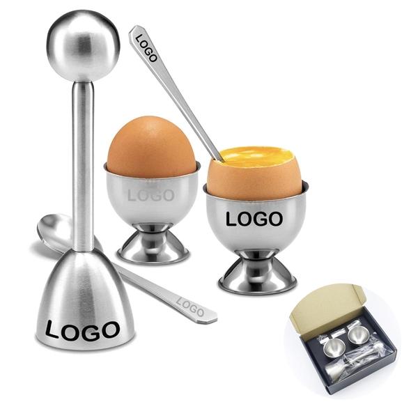 5pcs Egg Topper Set