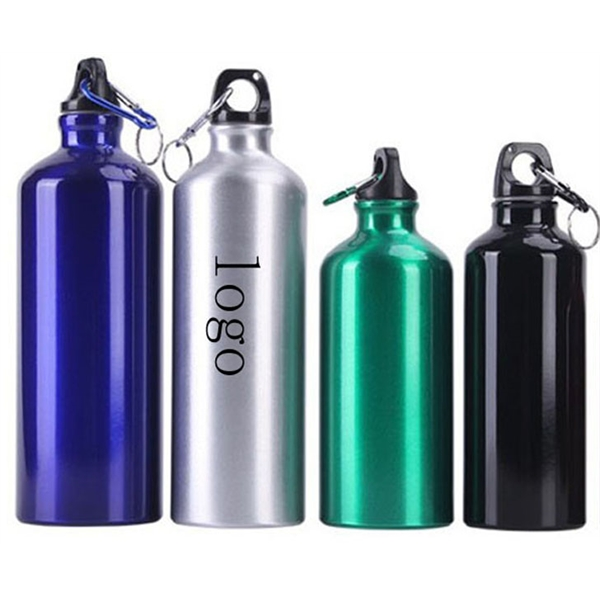 25OZ Aluminum Bottle with Carabiner Sports Flask