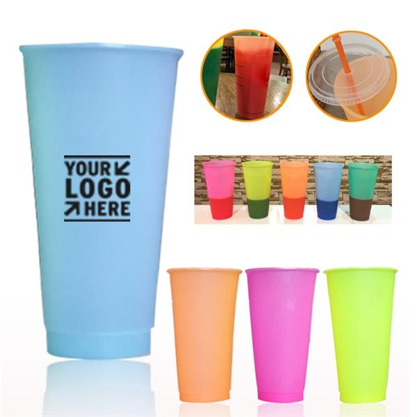 20OZ Color Changing Stadium Cup