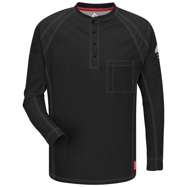 Bulwark® Men's iQ Series® Henley Shirt