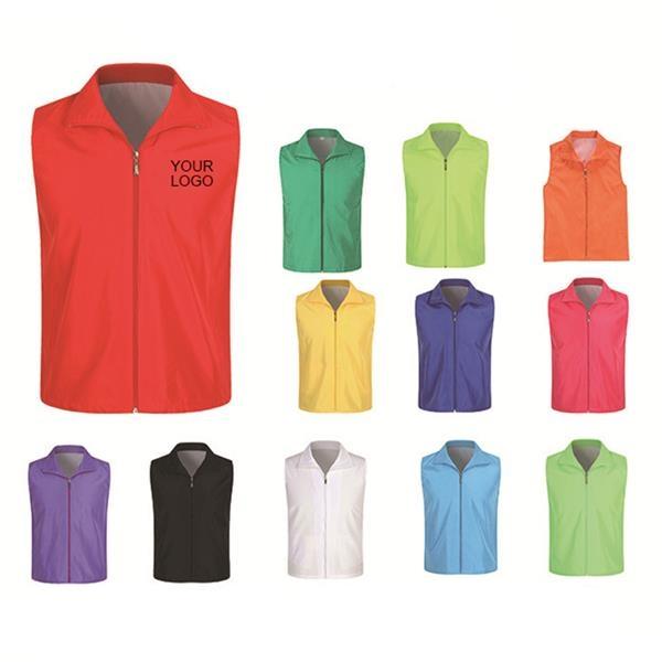Volunteer vest in 12 colors