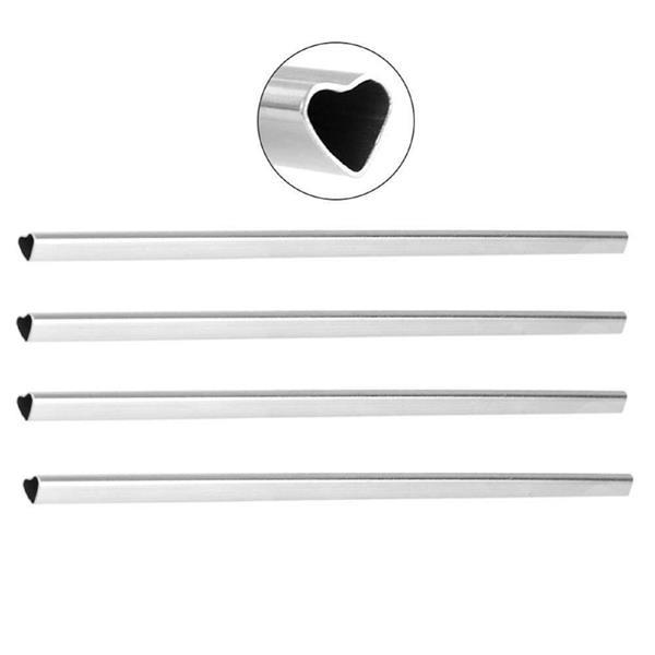 Heart Shape Stainless Steel Straw