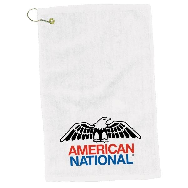 """12"""" x 17"""" Turkish Hemmed Golf Towel"""
