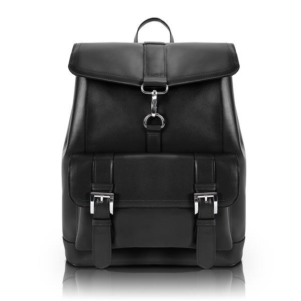 HAGEN Leather Laptop Backpack