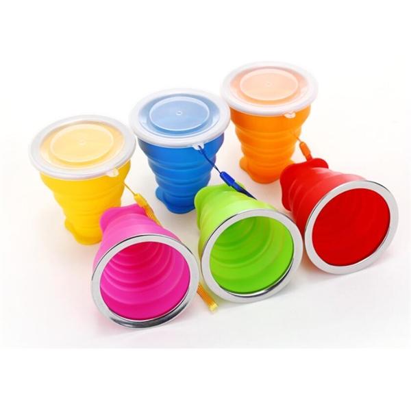 Retractable Folding Cups