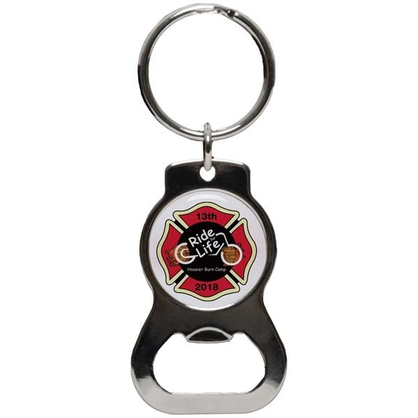 Rounded Key Chain Bottle Opener