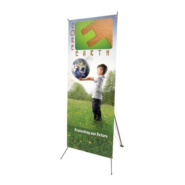 "Tripod Banner Display Kit (24"" x 70"")"