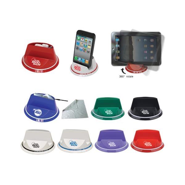 360 Degree Rotatable Multi-functional Phone Holder