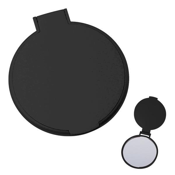 "Compact Mirror - Round compact mirror, 2 1/4"" diameter."
