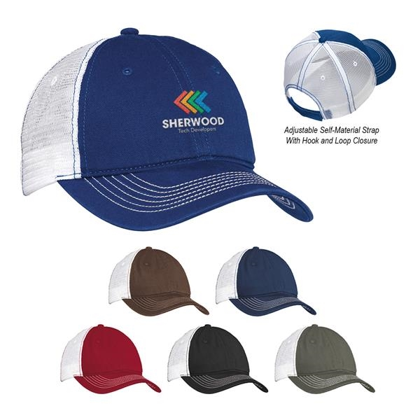 DistrictMesh Back Cap