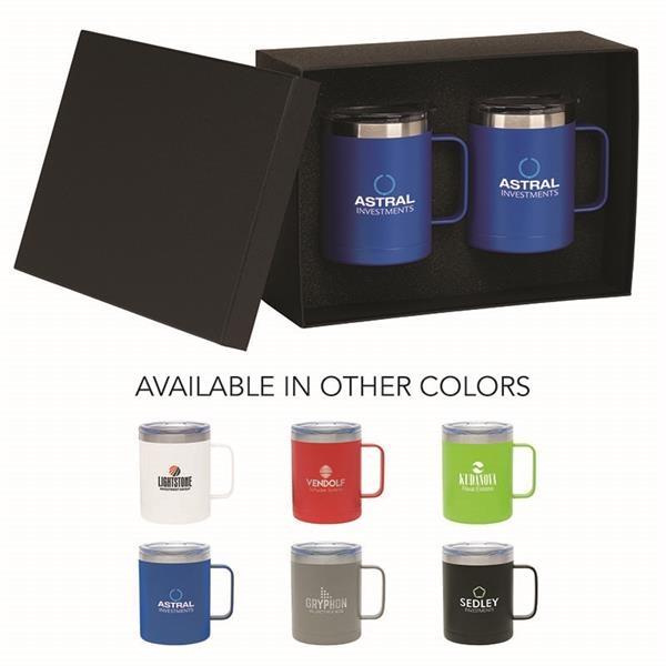 Camper II Two-Piece Camping Mug Gift Set