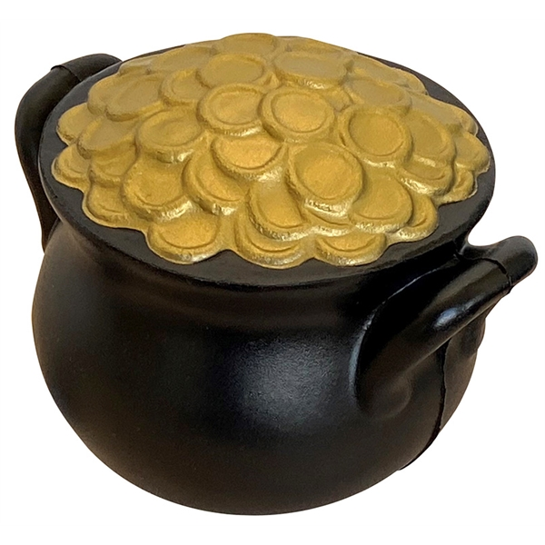 Pot of Gold Squeezies® Stress Reliever