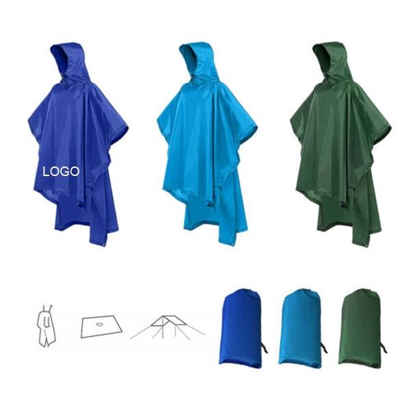 Multifunctional Raincoat with Hood