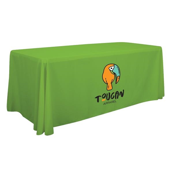 6' Economy Table Throw (Full-Color Front Only)
