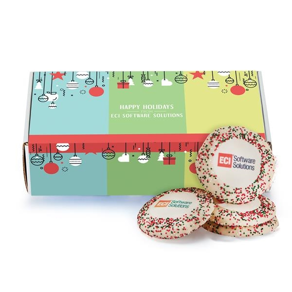 Sugar Cookie Mailer Box - Holiday Nonpareil Sprinkles