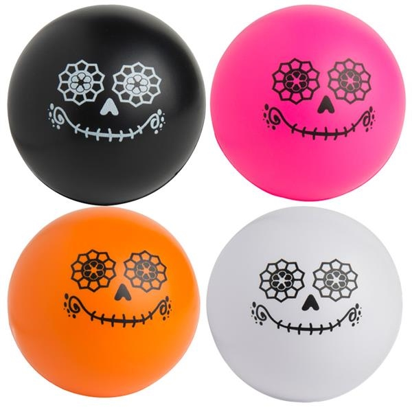 Day of the Dead Ball Squeezies® Stress Reliever