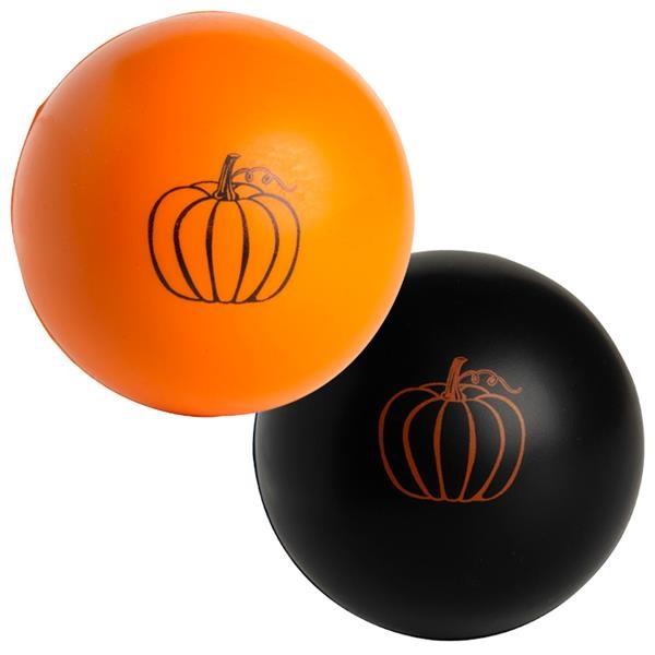 Pumpkin Ball Squeezies® Stress Reliever