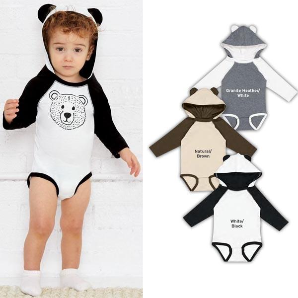 Infant Character Hood Bodysuit