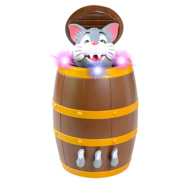 Pirate Barrel Game Pirate Bucket Tricky Toy