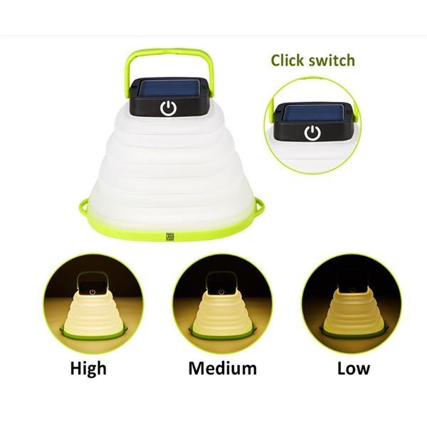 Collapsible Solar Powered Lantern