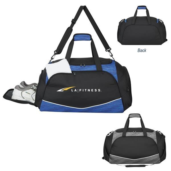 Deluxe Athletic Duffel Bag
