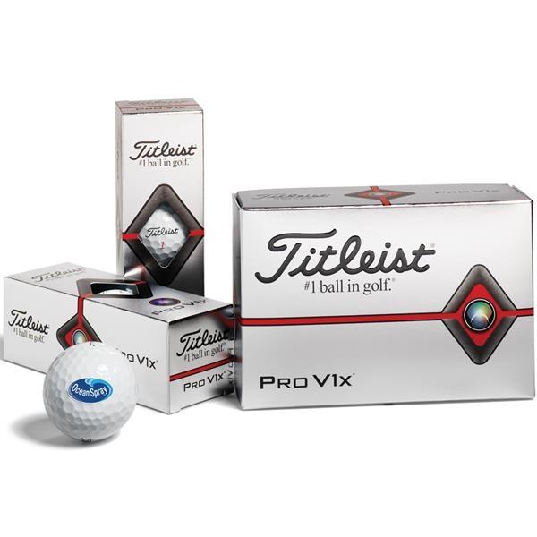 Titleist® Pro V1x®  Golf Balls - Half Dozen