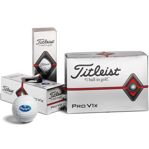 Titleist® Pro V1x®  Golf Balls - Half Dozen - FACTORY