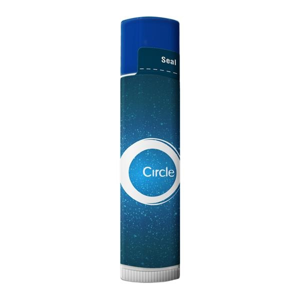 SPF 15 Lip Balm In White Tube With Color