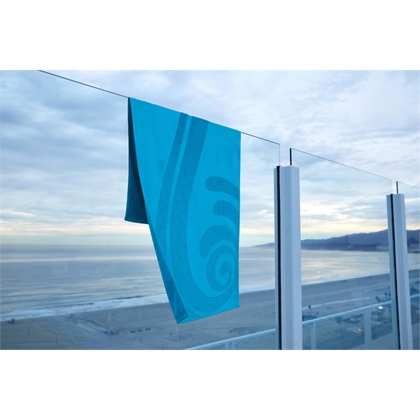 Embossed Collection Beach Towel