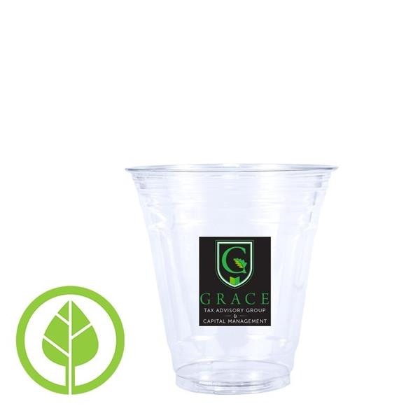 12 oz. Eco-Friendly Clear PLA Plastic Cup