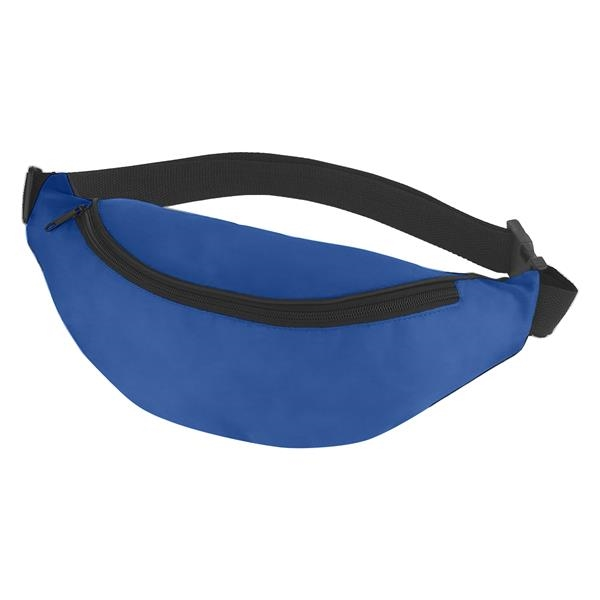 """Budget Fanny Pack - Fanny pack with 44"""" maximum belt size, made of 210 Denier Polyester."""