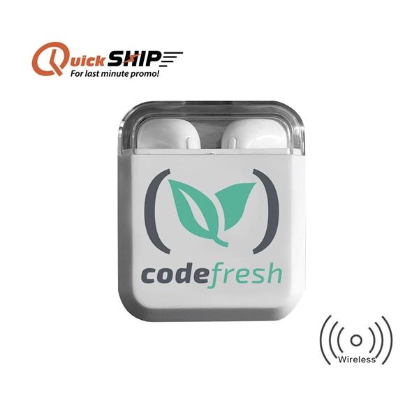Irvine TWS Earbuds with Wireless Chargin