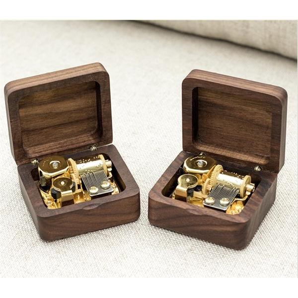 Custom Made Wooden Mechanical Music Box