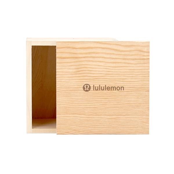 4 x 4 Small Square Wooden Box