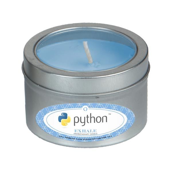 Custom Aromatherapy Candle in Small Window Tin
