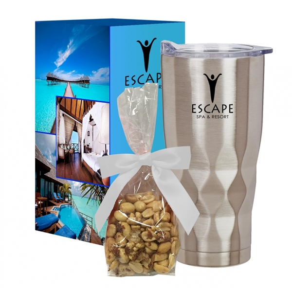22 Oz. Vortex Stainless Steel Tumbler With Stuffer And Cu...