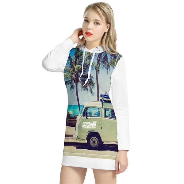 Camila Women's All-Over-Print Pull Over Hoodie!