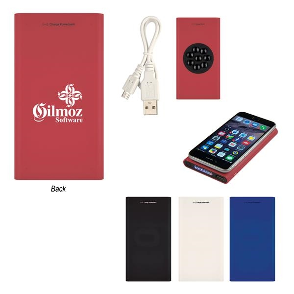 Soft Touch Power Bank With Suction Cups