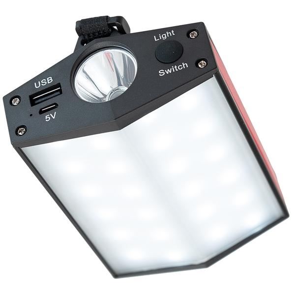 Multi Function Flashlight/Camp Light/Power Bank