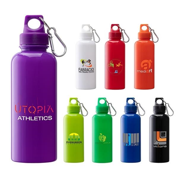 Brio 20 oz. PS Water Bottle w/ Carabiner