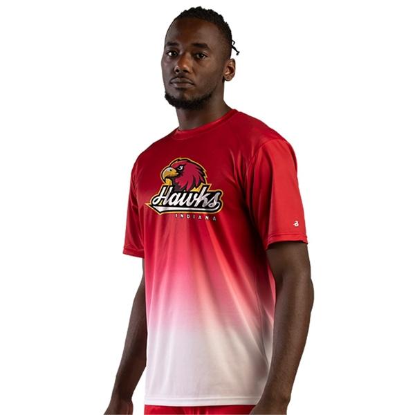 Badger Reverse Ombre T-Shirt