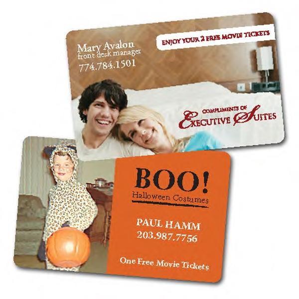Prepaid Movie ticket card