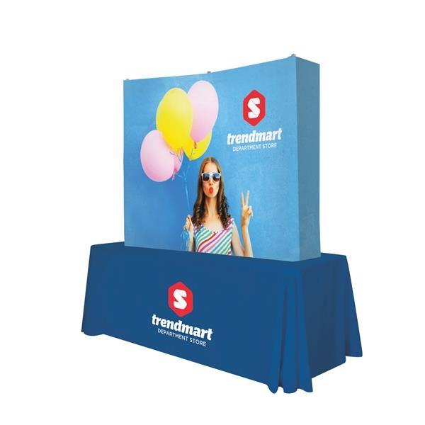 6' Curved Splash Tabletop Wrap Kit (Block-Out)