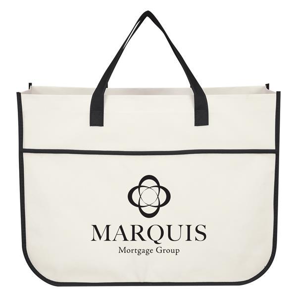 Non-Woven Galleria Shopper Tote Bag