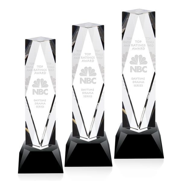 President Award on Base - Black