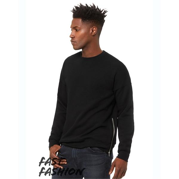 BELLA + CANVAS FWD Fashion Crewneck Sweatshirt with Side ...