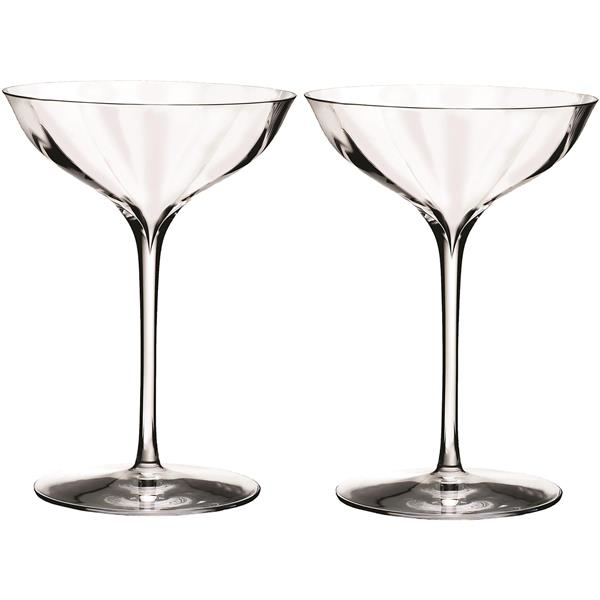 Waterford® Elegance Optic Belle Coupe Set/2
