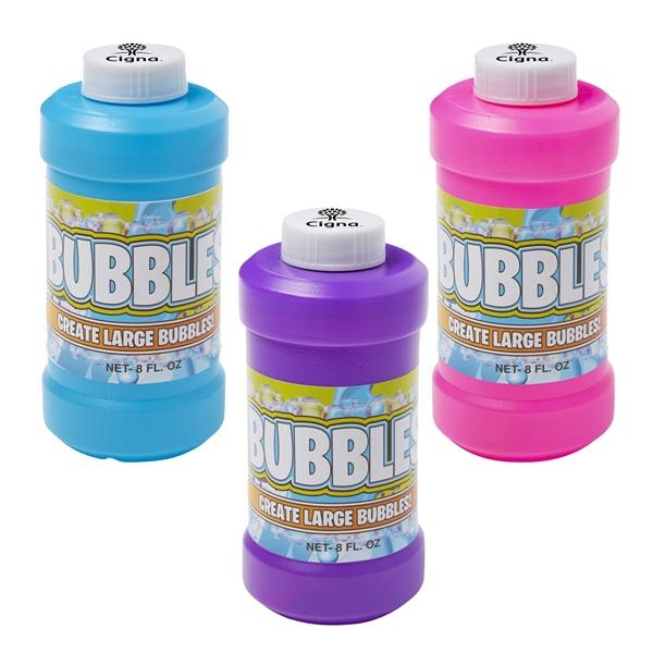 8 oz. Bubbles with cap imprint