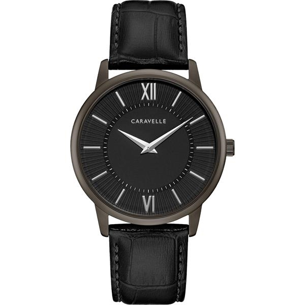Caravelle Men's Leather Strap from the Dress Collection
